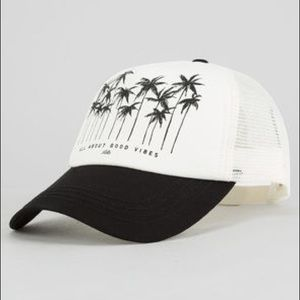 BILLABONG ALOHA FOREVER HAT ALL ABOUT GOOD VIBES